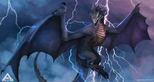 Lightning wyvern from Ark Survival Evolved