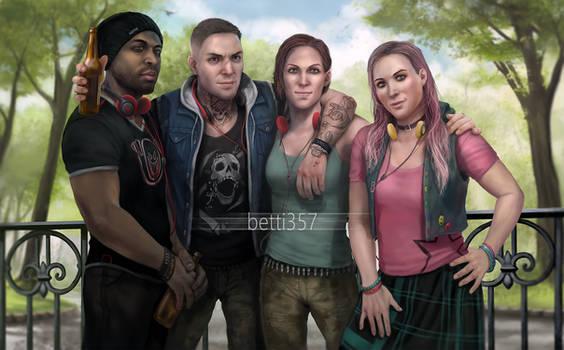 Dead by Daylight- Team Legion