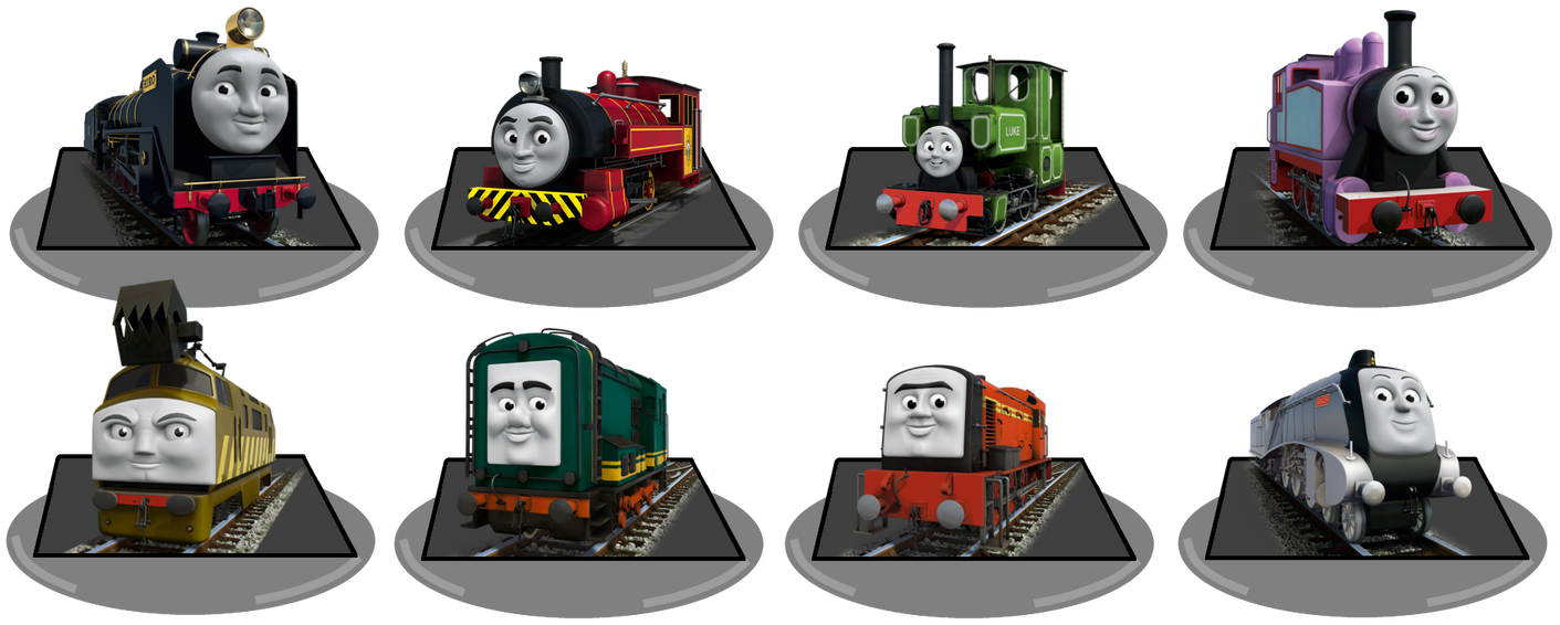 My Universe Thomas And Friends Other Characters By TDGirlsFanForever