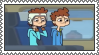 Mickey and Jay Stamp by TDThomasFan725