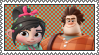 Disney Infinity Vanellope and Ralph Stamp by TDGirlsFanForever