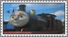 James (Black) Stamp by TDGirlsFanForever