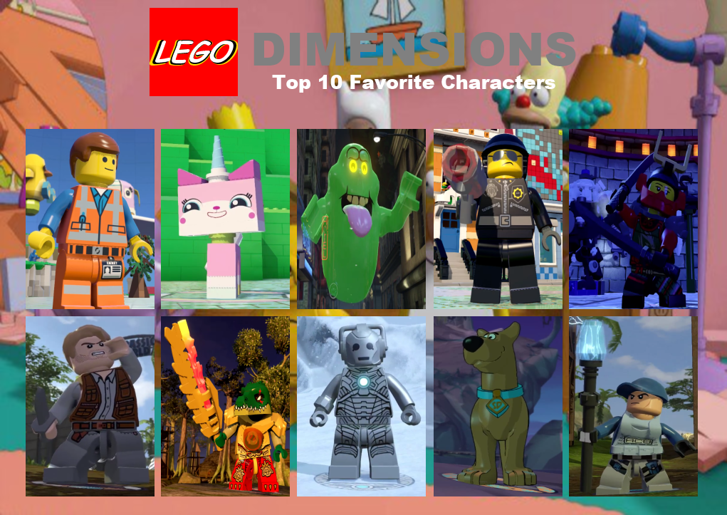 My Top 10 Favorite LEGO Dimensions Characters by TDGirlsFanForever ...
