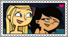 SammyXSky Stamp by TDGirlsFanForever