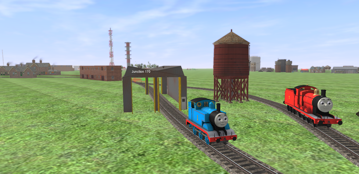Thomas and James in Trainz A New Era by TDGirlsFanForever on DeviantArt