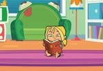 GBAS: Bridgette Reading a Book