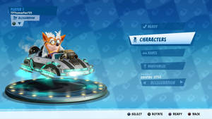 CTR: NF (Back to the Future Kart)