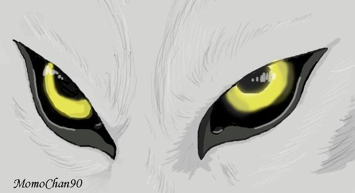 anime wolf eye drawing: Wolf's Eyes By MomoChan90 On DeviantArt
