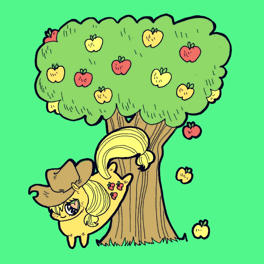 Apple Buckin by kicksatanout