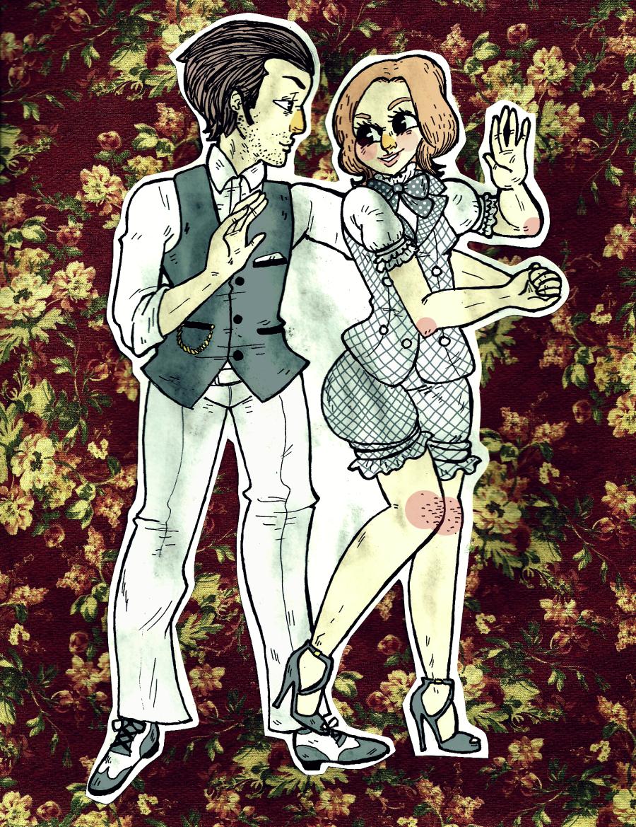 dancingcouple by kicksatanout