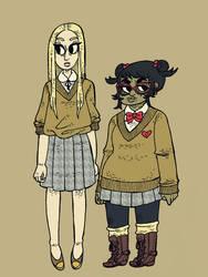 the girls by kicksatanout
