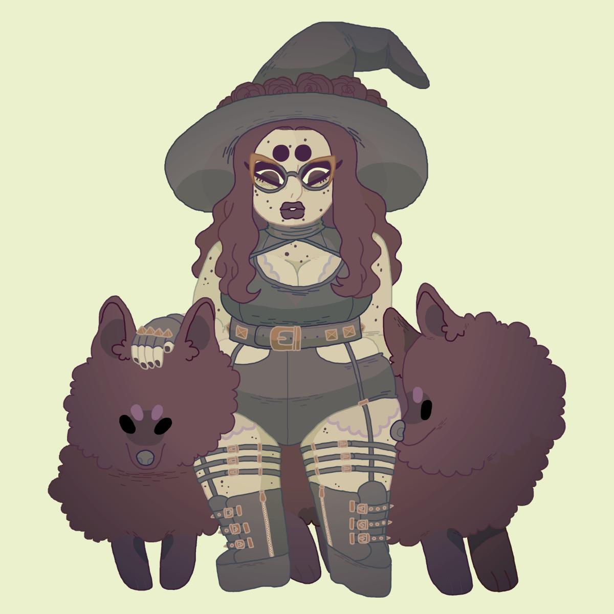 witchsona by kicksatanout