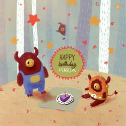 Maria's birthday