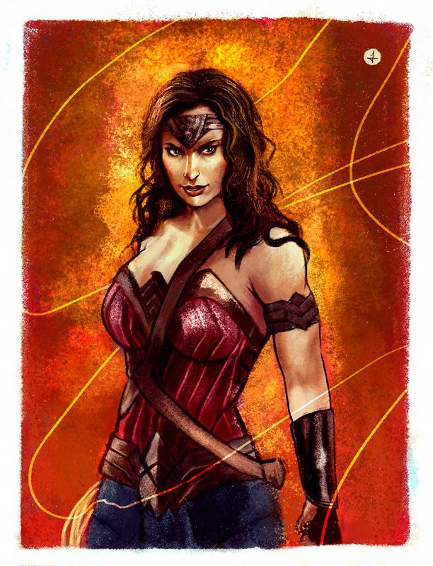 Wonder Woman by ElisaAyala