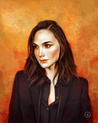 Gal Gadot portrait