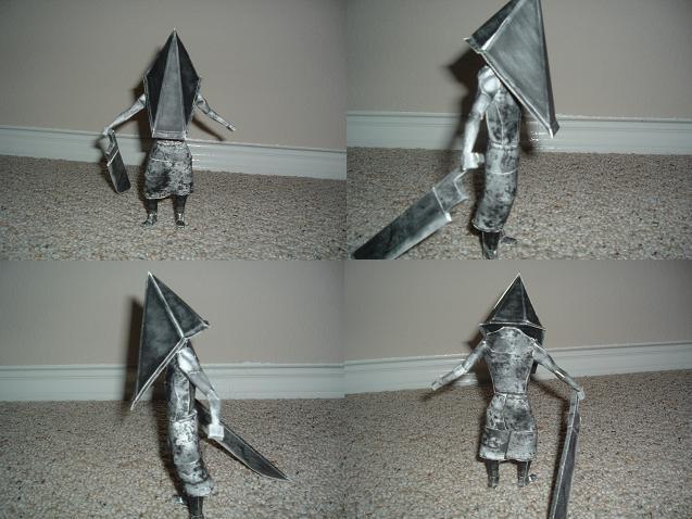 Pyramid Head papercraft by ShadoZ3ro