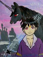The Boy and the Unicorn by emayuku