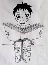 Little Shinra by emayuku