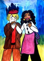 CC: Anthony and Cassandra by emayuku