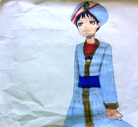 Shinra Kusakabe Care Characters by emayuku