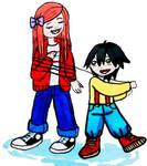 brother sister by emayuku