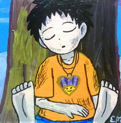 Young Shinra soles by emayuku