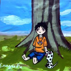 When Shinra Meet Dolly Dalmatian by emayuku