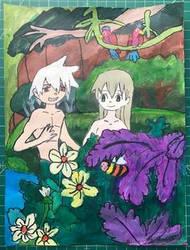 Adam and Eve. by emayuku