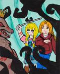Adventure of Tiny Thumb and Thumbling by emayuku