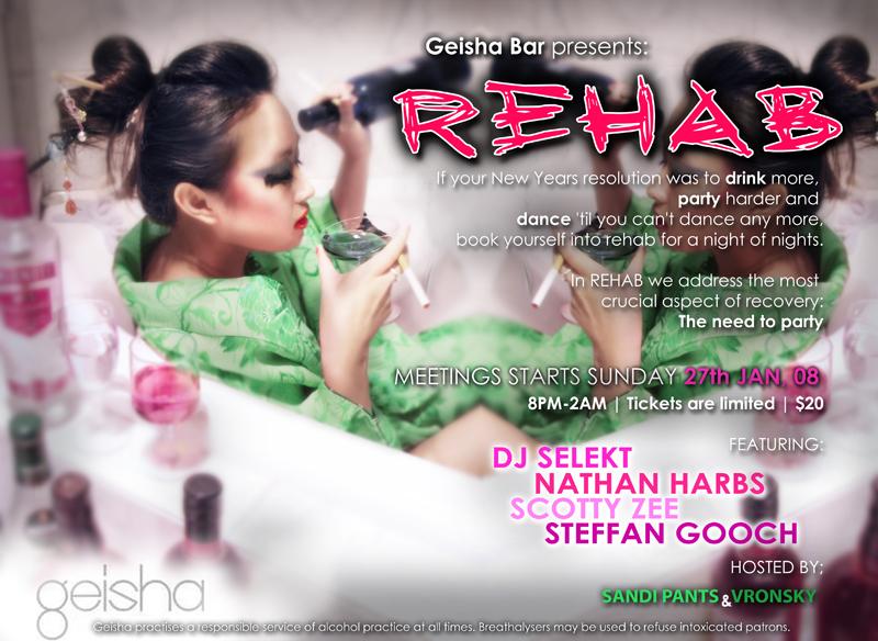 Geisha Bar's 'Rehab' by luvieur