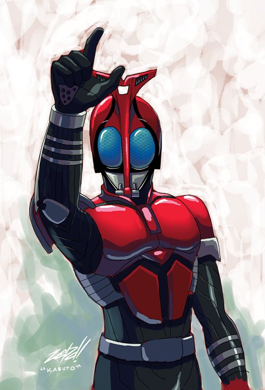 Kamen Rider Kabuto by z3dd on DeviantArt
