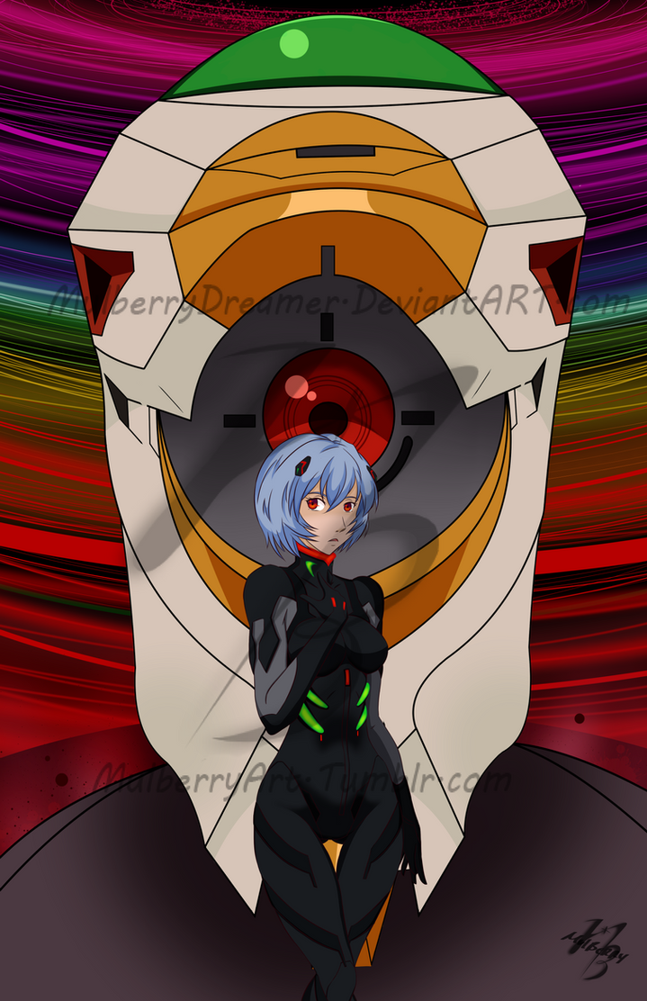 Rei (Mark.09) Ayanami by MulberryDreamer