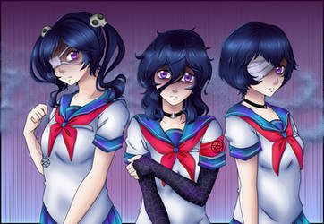 Occult Ladies by MulberryArt