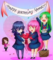 Happy Birthday YanDev by MulberryArt