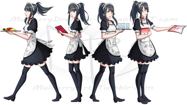 bb40bb98e52 MulberryArt 334 14 Why Is My Cafe Maid Also A Yandere ! by MulberryArt