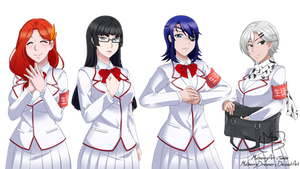 Student Council by MulberryArt