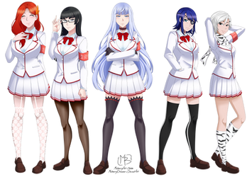 The Student Council by MulberryArt