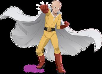 One-Punch Man by MulberryArt