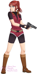 Claire Redfield by MulberryArt