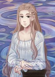 Portrait Lady by MulberryArt