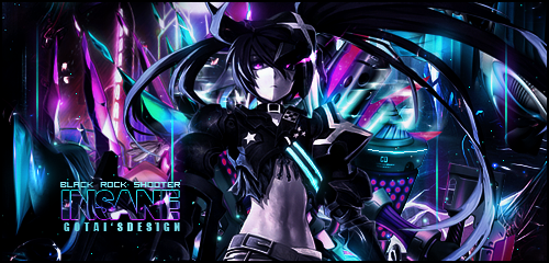Insane Black Rock Shooter by Godofhentai
