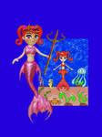 Young Princess Mermaid