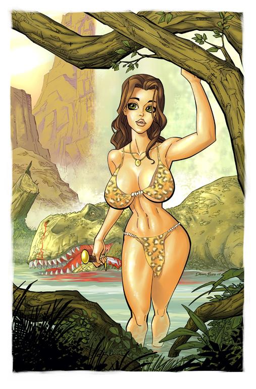 Cavewoman by DennisBudd