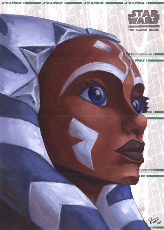 Star Wars Clone Wars- Ashoka by DennisBudd