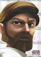 Star Wars Clone Wars- Obi-Wan by DennisBudd