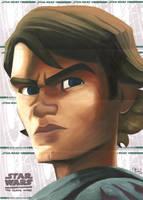 Star Wars Clone Wars- Anakin by DennisBudd