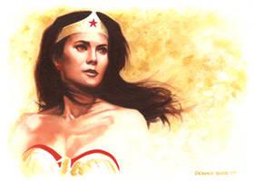 Wonder Woman_Lynda Carter by DennisBudd