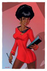 Uhura by DennisBudd