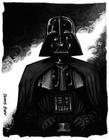 convention sketch 04 DarthVader by DennisBudd