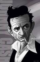 Johnny Cash by DennisBudd